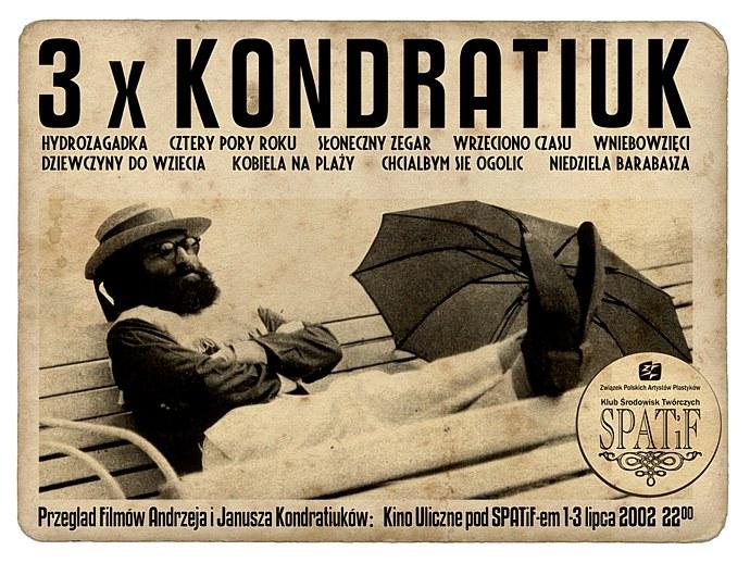 Plakat 1 edycji Sopot Bimba Film