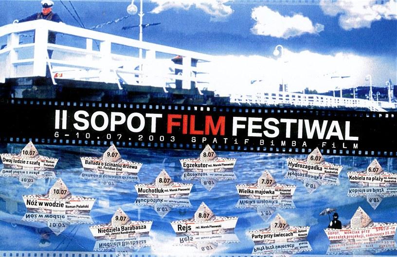 II SOPOT BiMBA FilM / Plakat / zaproszenie /