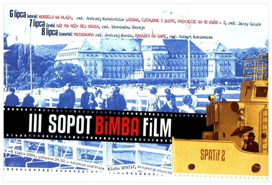 III SOPOT BiMBA FiLM /plakat / zaproszenie /