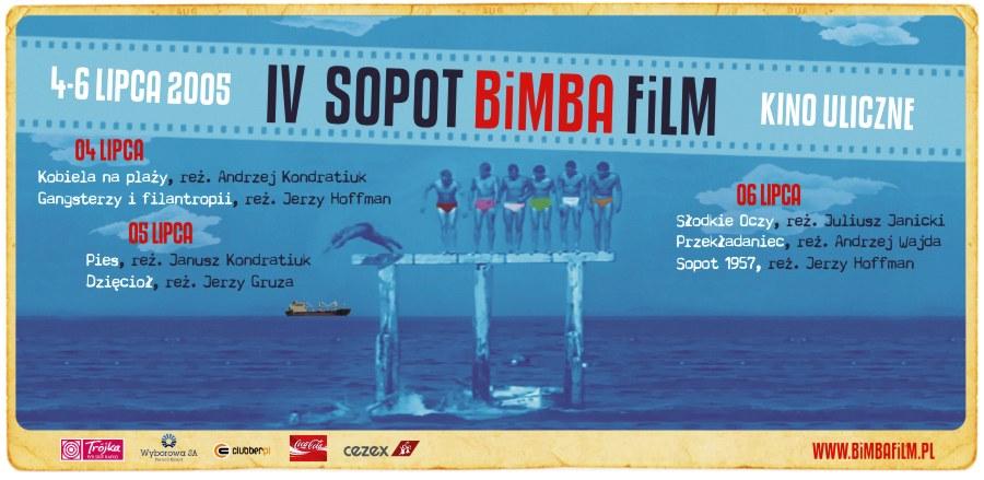 Iv SOPOT BiMBA FiLM /plakat / zaproszenie /