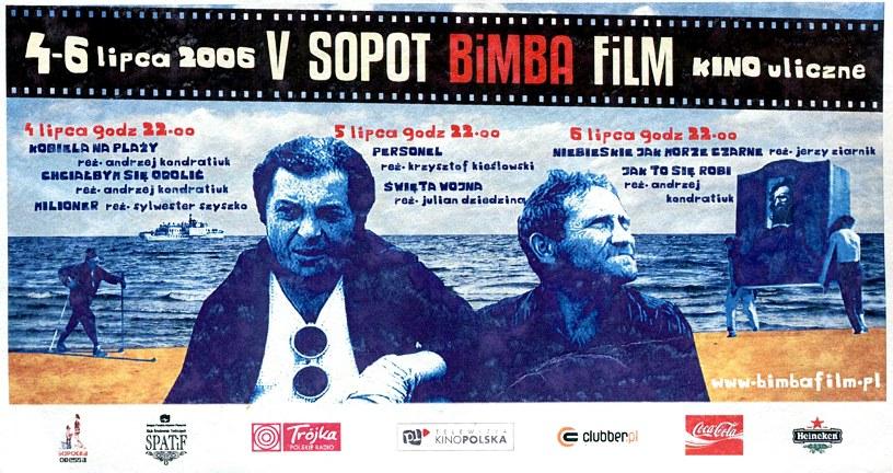 V SOPOT BiMBA FiLM /plakat / zaproszenie /