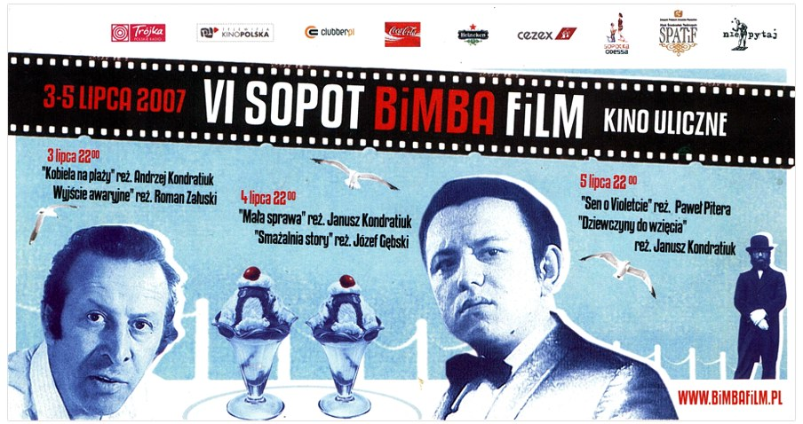 VI SOPOT BiMBA FiLM /plakat / zaproszenie /