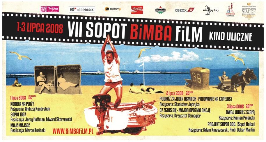 VII SOPOT BiMBA FiLM /plakat / zaproszenie /